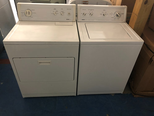 Kenmore top load washer dryer set great working order with 90 days warranty