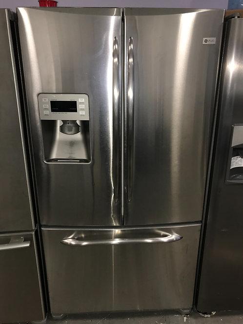 Ge stainless steel french door fridge