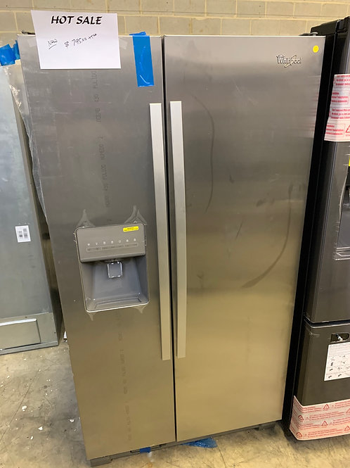 NEW SCRATCH AND DENT WHIRLPOOL STAINLESS S/S REFRIGERATOR