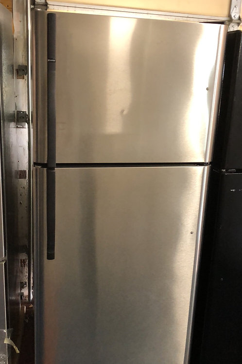 """30""""stainless top bottom fridge great works with 90 days warranty"""