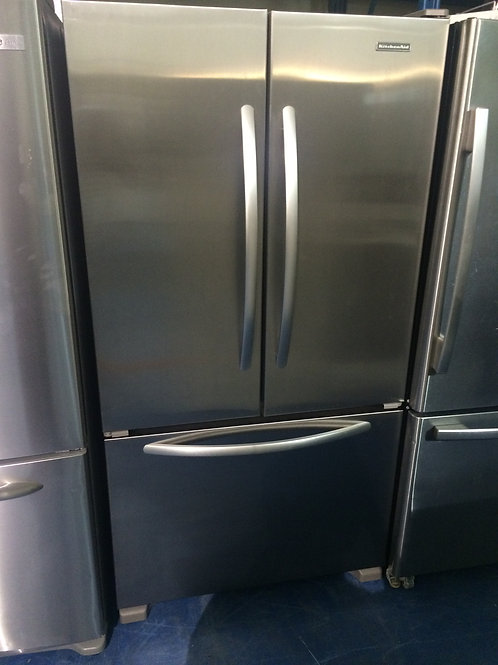 KITCHENAID STAINLESS FRENCHDOOR GREAT WORKING ORDER 90 DAYS WARRANTY