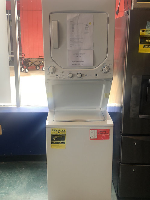 "Brand new GE 24"" stance unit with one year warranty"