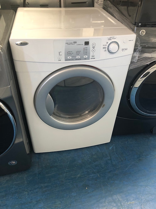 Amana stackable electric dryer great works with 90 days warranty