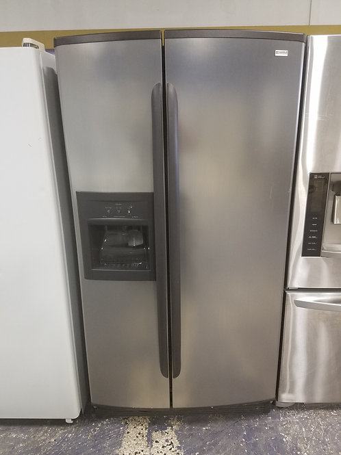 36x69 Stainless Steel Kenmore Side by Side