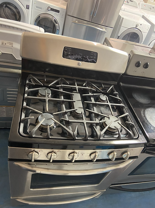 Ge stainless gas stove great working order 60 days warranty