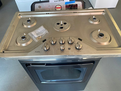 new open box ge cook top gas with warrnty