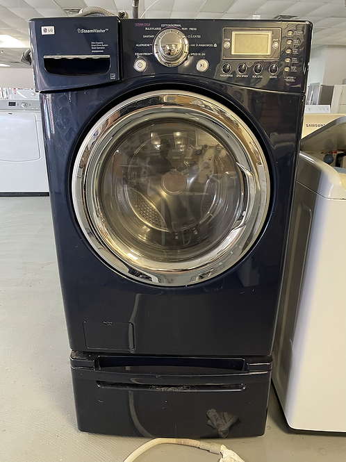 LG refurbished 4.5 stackable washer working condition with warranty.