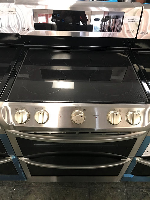 Lg brand new electric stove double oven.
