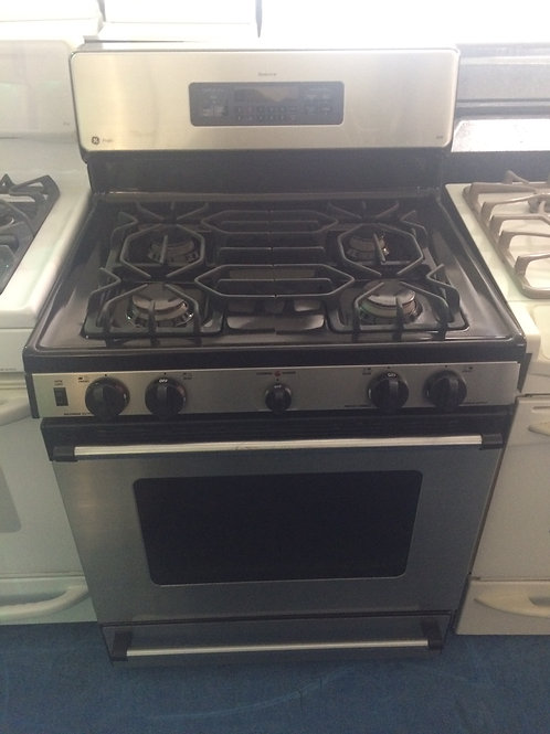 GE STAINLESS GAS STOVE GREAT WORKING 90 DAYS WARRANTY