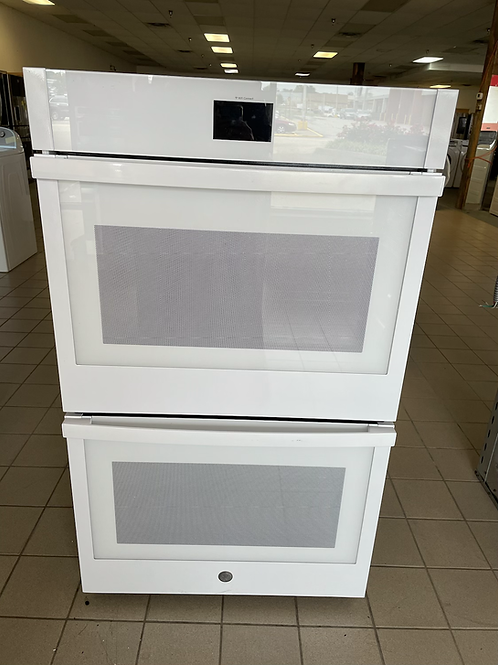 """Ge open box 30"""" Double wall Convection oven with Wifi connect feature"""