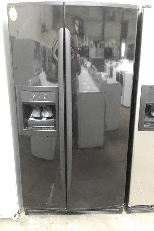 """36""""width Kenmore side by side fridge black"""