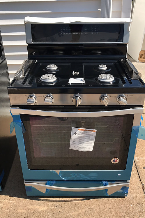 Brand new scratch dent Stainless Gas Stove 1 Year