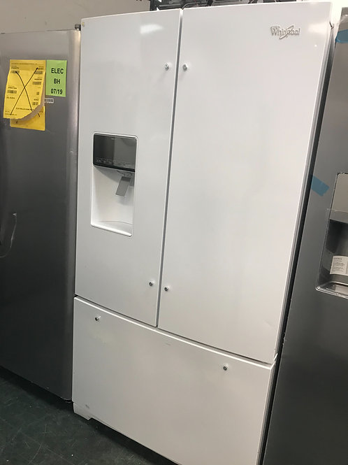 Lg brand new open box scratch and dent model French door fridge.