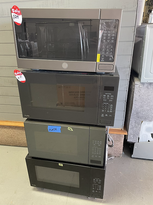 Ge and Ge profile Counter top Microwaves with Convection Bake feature$199 and up