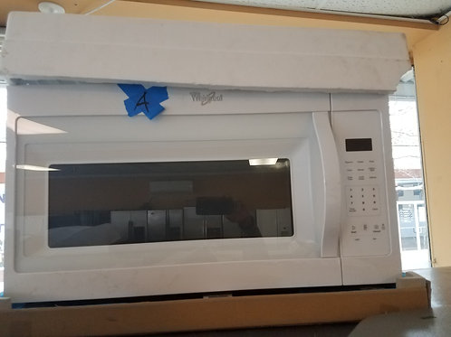 30'' Whirlpool Over The RANGE Microwave- White