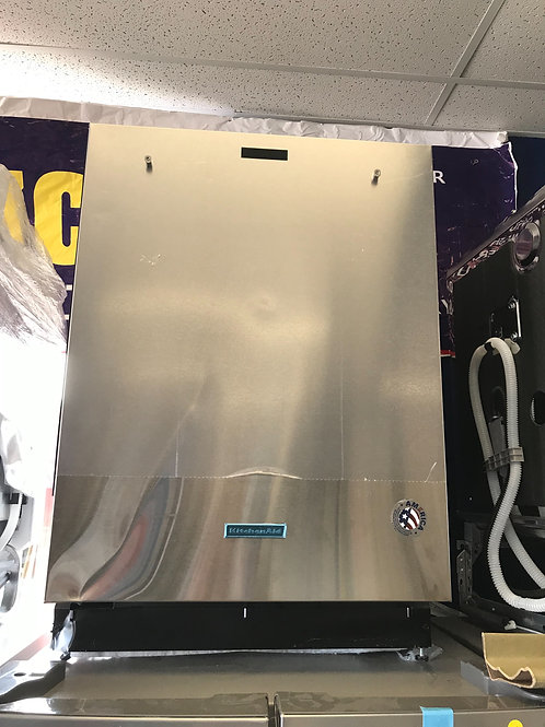 """Kitchen aid brand new open box stainless steel dishwasher works great 24"""""""