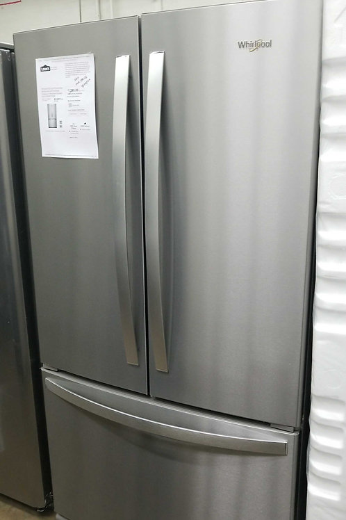 New open box whirlpool French door stainless steel