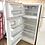 Thumbnail: Frigidaire refurbished top and bottom fridge with ice maker 45 days warranty.