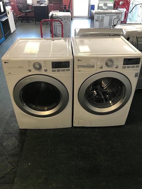 New Lg washer dryer SET
