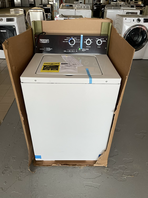 Maytag brand new Comercial top load washer He.