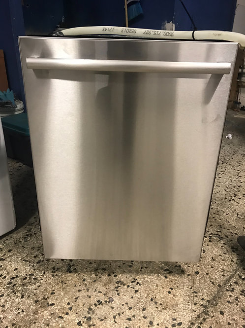 Bosch brand refurbished stainless steel dishwasher.