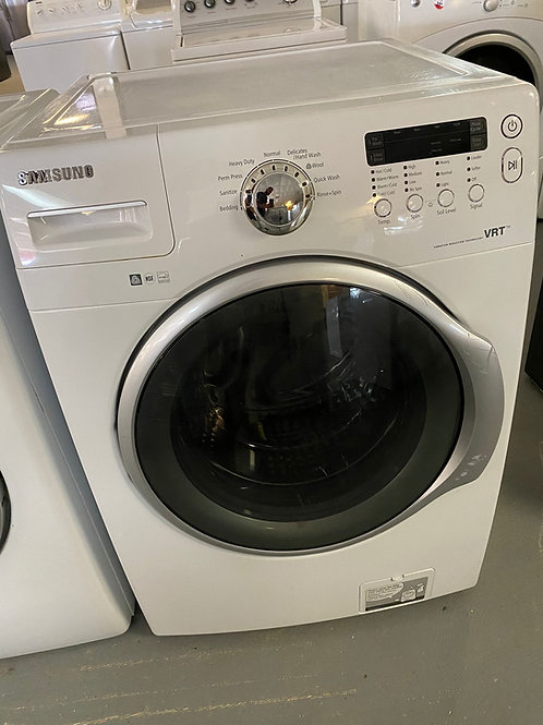 new samusng front load washer dryr  set  with warrnty