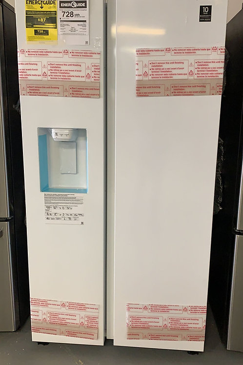 36BY69 NEW SAMSUNG FRIDGE SIDE BY SIDE WHITE WITH WARRANTY