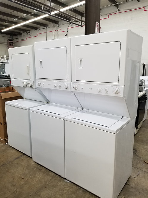 """27""""width stackunit washer and dryer electric 220v"""
