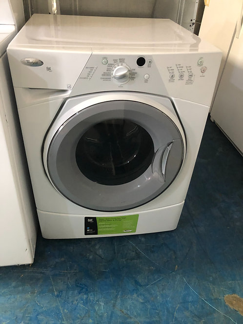 "27""whirlpool stackable front load washer 90 days warranty"