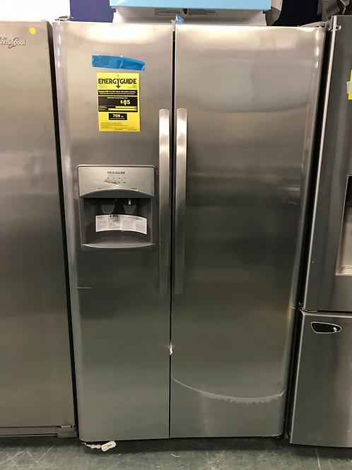 "Frigidaire brand new stainless steel S/S refrigerator 36""."