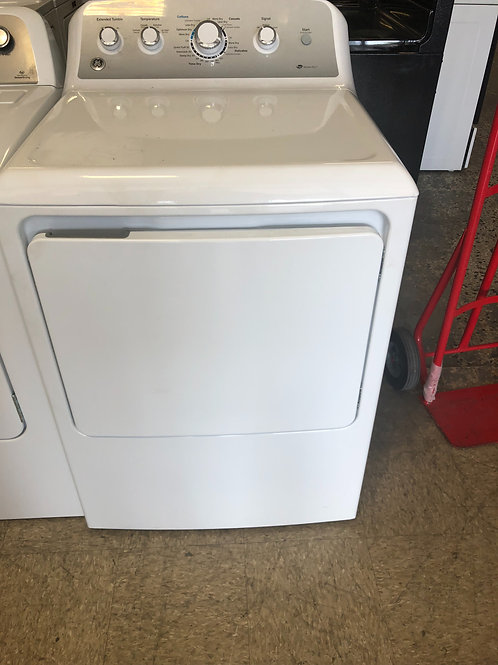 "27"" NEW GE FRONT LOAD ELECTRIC DRYER WITH ONE YEAR WARRANTY"