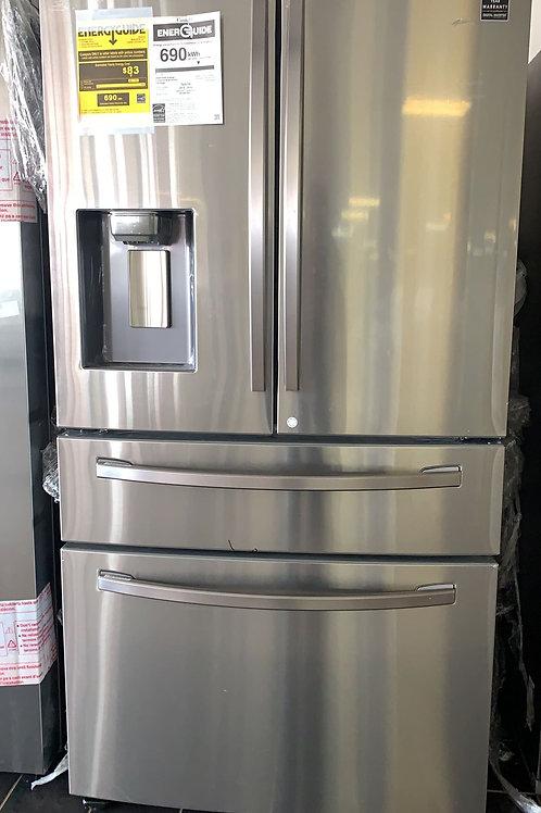 new samsung four door fridge stainless steel fridge with warrnty