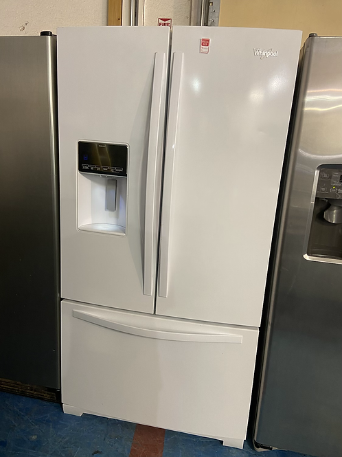 """36"""" whirlpool Frenchdoor fridge great working order with 60 days warranty"""
