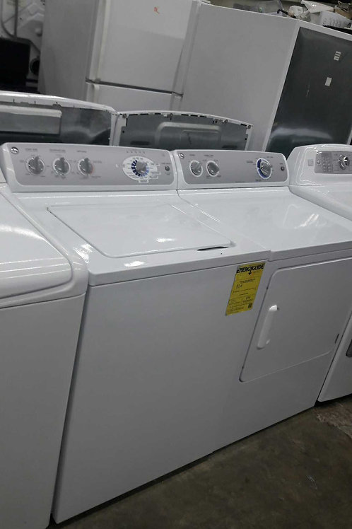 GE top load washer and dryer set electric