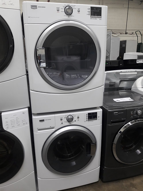 """27""""width Maytag front load washer and dryer set"""