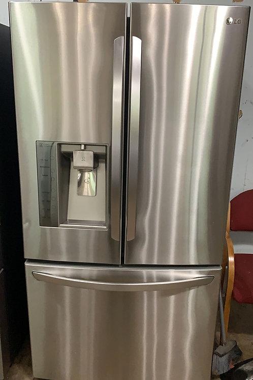 "LG return model stainless steel french door refrigerator 36"" W 69"" H"