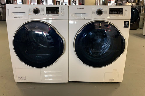 """24""""new samsung front load washer dryr set with warrnty"""