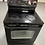 Thumbnail: Ge refurbished black electric glass top stove working condition with warranty