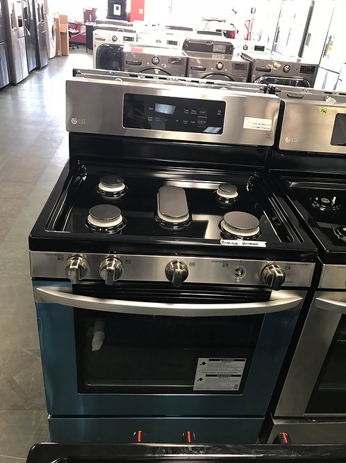 Lg brand new gas stove stainless steel.