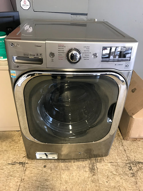 LG brand new stackable jumbo washer Excellent working.
