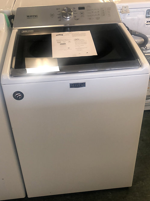 Brand new Maytag glasstop load washer with one year warranty