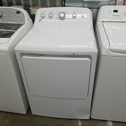 GE electric dryer new open box as a dent item