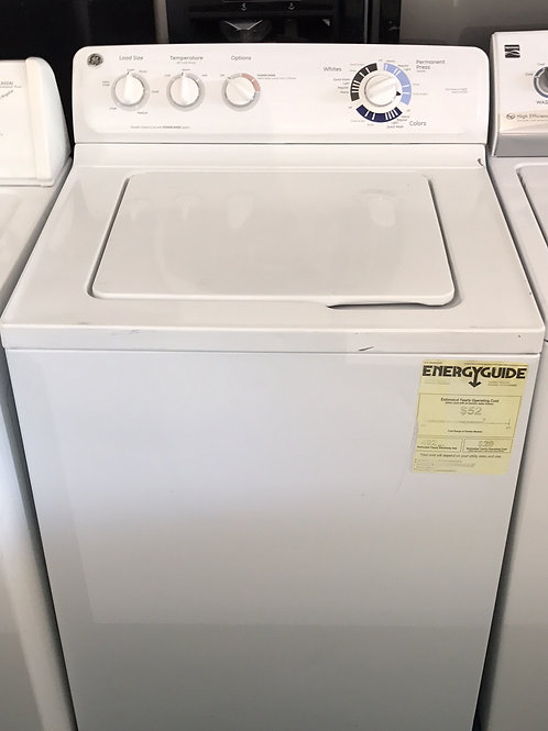 "27""Ge Top Load Washer 90 Days Warranty"
