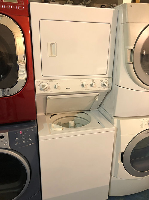 """27""""kenmore stackunit washer dryer great works with 90 days warranty"""