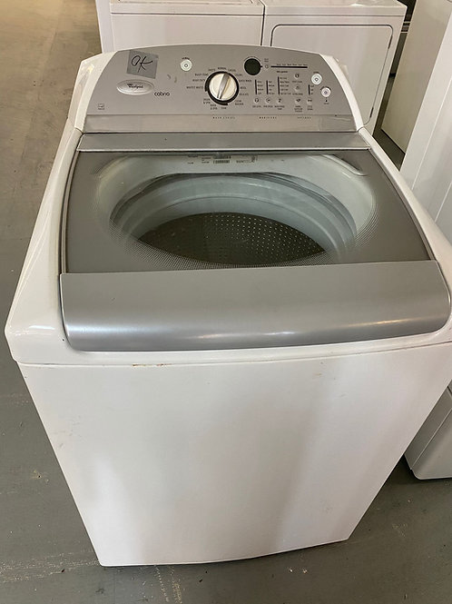whirlpool cabiro top load wsasher dryr set with warrnty