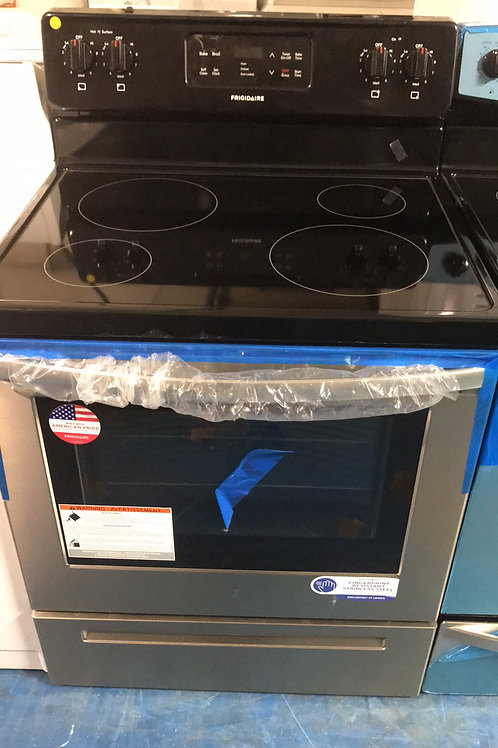Frigidaire Stainless Electric Stove Great Working Order With 1 Year Warranty