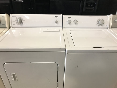 inglis top load washer and electric dryer set