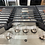 """Thumbnail: Ge new open box Stainless steel 36"""" Gas cooktop."""