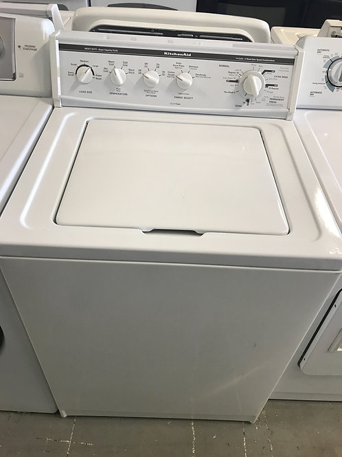 Kitchen Aid  top load washer.