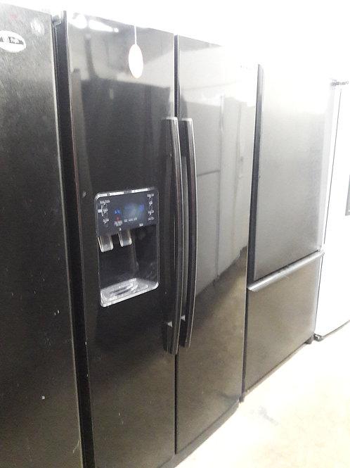 """36""""samsung side by side fridge black"""